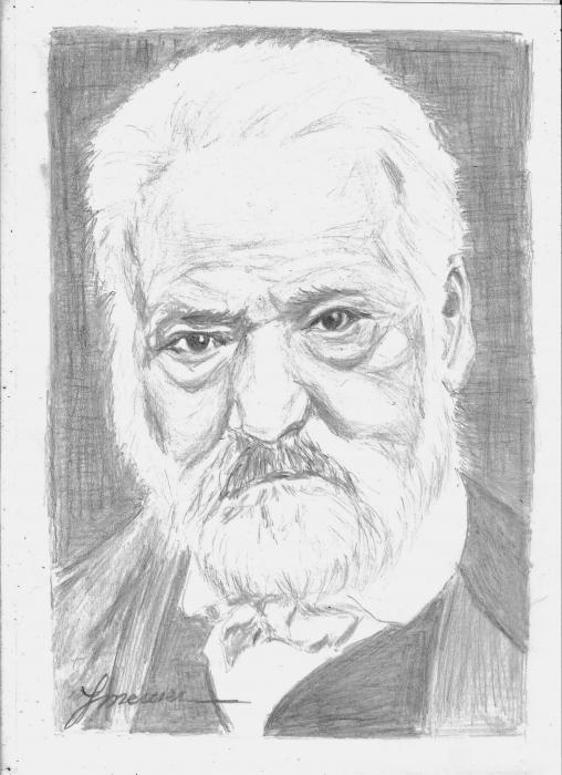 Victor Hugo by YMERCIER